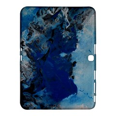 Blue Abstract No 2 Samsung Galaxy Tab 4 (10 1 ) Hardshell Case  by timelessartoncanvas