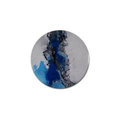 Blue Abstract No 3 Golf Ball Marker (4 Pack) by timelessartoncanvas