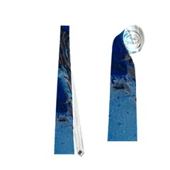 Blue Abstract No.3 Neckties (Two Side)  by timelessartoncanvas
