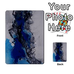 Blue Abstract No 3 Multi Purpose Cards (rectangle)
