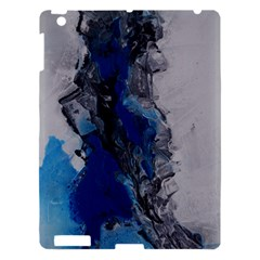Blue Abstract No 3 Apple Ipad 3/4 Hardshell Case by timelessartoncanvas