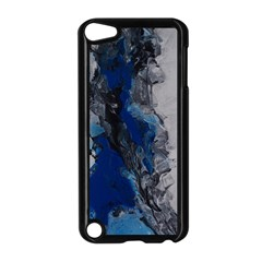 Blue Abstract No 3 Apple Ipod Touch 5 Case (black) by timelessartoncanvas