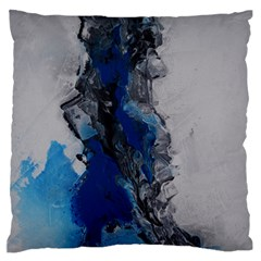 Blue Abstract No 3 Standard Flano Cushion Cases (two Sides)  by timelessartoncanvas