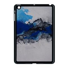 Blue Abstract No 4 Apple Ipad Mini Case (black) by timelessartoncanvas