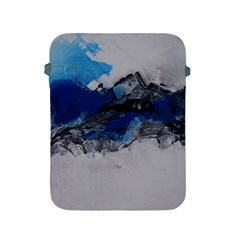 Blue Abstract No 4 Apple Ipad 2/3/4 Protective Soft Cases by timelessartoncanvas
