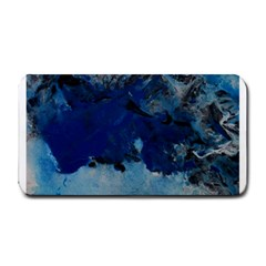 Blue Abstract No 5 Medium Bar Mats