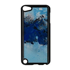 Blue Abstract No 5 Apple Ipod Touch 5 Case (black) by timelessartoncanvas