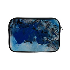 Blue Abstract No 5 Apple Ipad Mini Zipper Cases by timelessartoncanvas