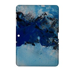 Blue Abstract No 5 Samsung Galaxy Tab 2 (10 1 ) P5100 Hardshell Case  by timelessartoncanvas