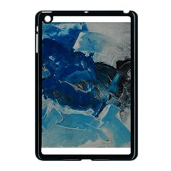 Blue Abstract No  6 Apple Ipad Mini Case (black) by timelessartoncanvas