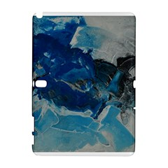 Blue Abstract No. 6 Samsung Galaxy Note 10.1 (P600) Hardshell Case by timelessartoncanvas
