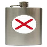 Alabama State Flag - Hip Flask (6 oz)
