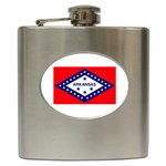 Arkansas State Flag - Hip Flask (6 oz)