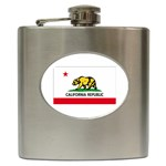 California State Flag - Hip Flask (6 oz)