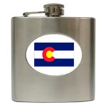 Colorado State Flag - Hip Flask (6 oz)