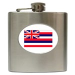 Hawaii State Flag - Hip Flask (6 oz)