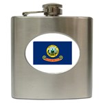 Idaho State Flag - Hip Flask (6 oz)