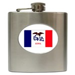 Iowa State Flag - Hip Flask (6 oz)