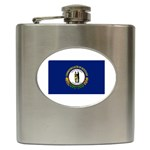 Kentucky State Flag - Hip Flask (6 oz)