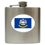 Louisiana State Flag - Hip Flask (6 oz)