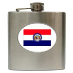 Missouri State Flag - Hip Flask (6 oz)