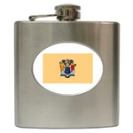 New Jersey State Flag - Hip Flask (6 oz)