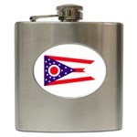 Ohio State Flag - Hip Flask (6 oz)