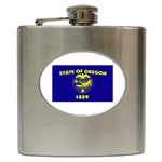 Oregon State Flag - Hip Flask (6 oz)