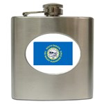 South Dakota State Flag Hip Flask (6 oz)