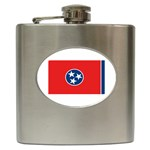 Tennessee State Flag - Hip Flask (6 oz)