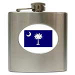 South Carolina State Flag - Hip Flask (6 oz)