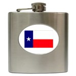 Texas State Flag - Hip Flask (6 oz)
