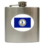 Virginia State Flag - Hip Flask (6 oz)