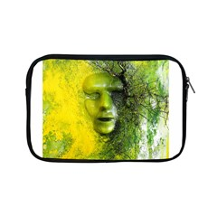 Green Mask Apple Ipad Mini Zipper Cases by timelessartoncanvas