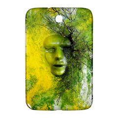 Green Mask Samsung Galaxy Note 8 0 N5100 Hardshell Case  by timelessartoncanvas