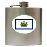 West Virginia State Flag - Hip Flask (6 oz)