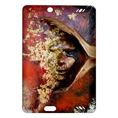 Red Mask Kindle Fire Hd (2013) Hardshell Case by timelessartoncanvas
