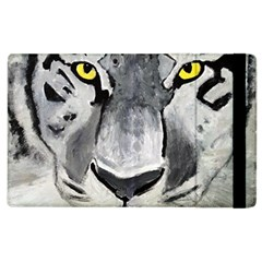 The Eye If The Tiger Apple Ipad 2 Flip Case by timelessartoncanvas