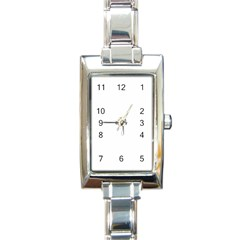 Love Rectangle Italian Charm Watches by theimagezone