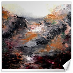 Natural Abstract Landscape Canvas 12  X 12   by timelessartoncanvas