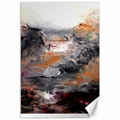 Natural Abstract Landscape Canvas 12  X 18   by timelessartoncanvas
