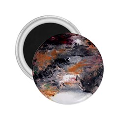 Natural Abstract Landscape No  2 2 25  Magnets by timelessartoncanvas