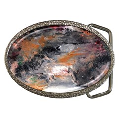 Natural Abstract Landscape No  2 Belt Buckles
