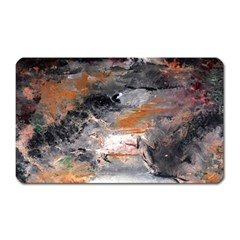Natural Abstract Landscape No  2 Magnet (rectangular) by timelessartoncanvas