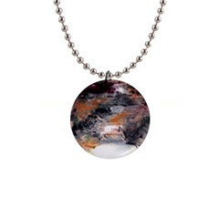 Natural Abstract Landscape No  2 Button Necklaces