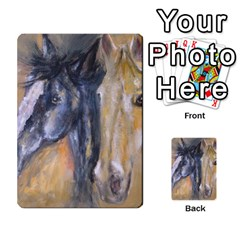 2 Horses Multi Purpose Cards (rectangle)