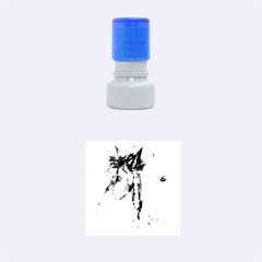2 Horses Rubber Round Stamps (small)