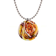 Abstract Rose Button Necklaces by timelessartoncanvas