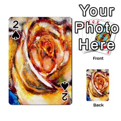 Abstract Rose Playing Cards 54 Designs