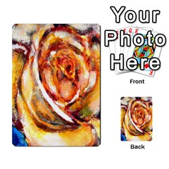 Abstract Rose Multi Purpose Cards (rectangle)  by timelessartoncanvas